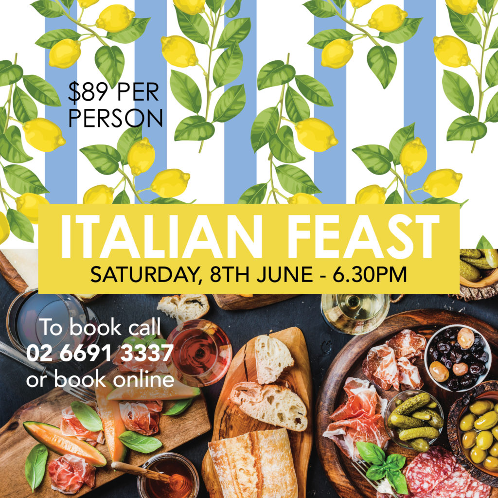 Silvios italiano Italian Feast June 2019