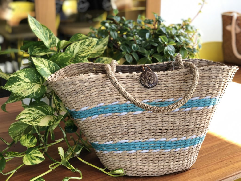 Woven Shopping Baskets - Silvio's Italiano