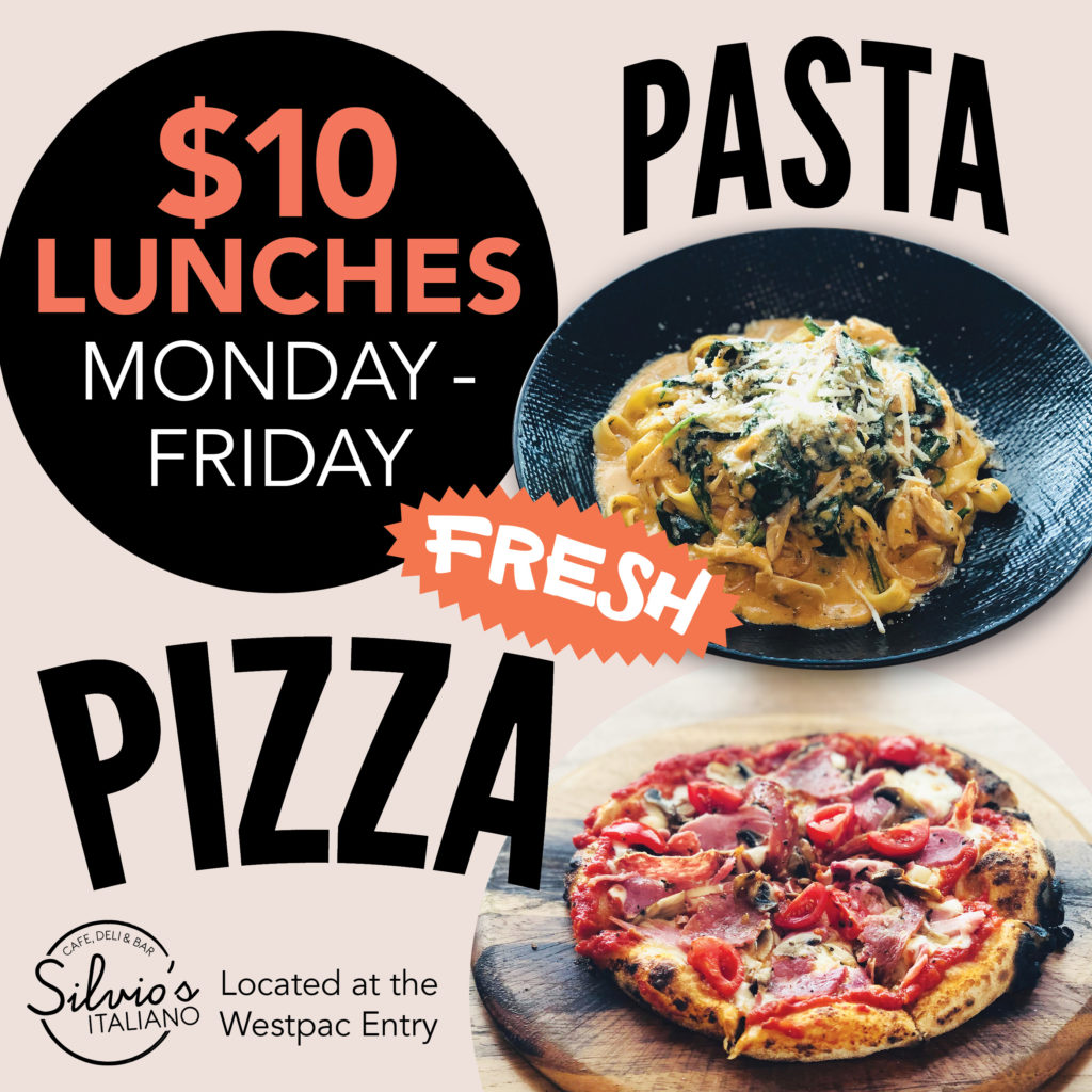 SILVIO'S ITALIANO COFFS HARBOUR LUNCH SPECIAL