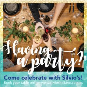 Silvio's Italiano Parties & Functions