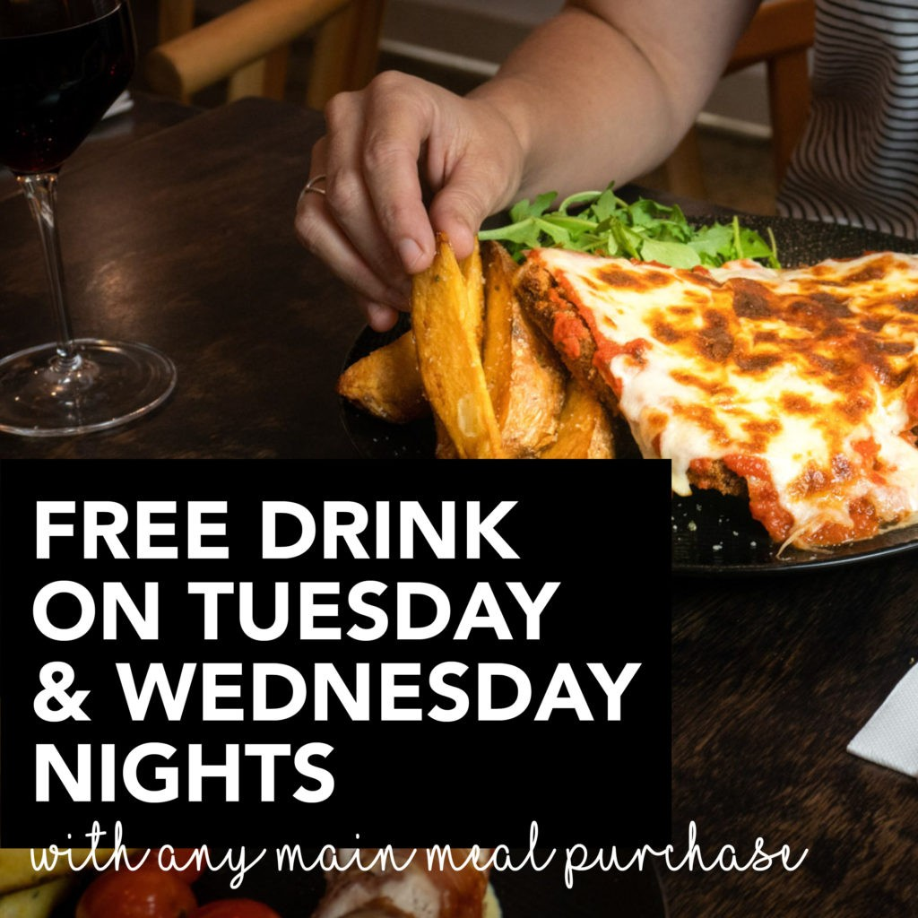 Silvio's Italiano Meal Deal Tuesday and Wednesday nights
