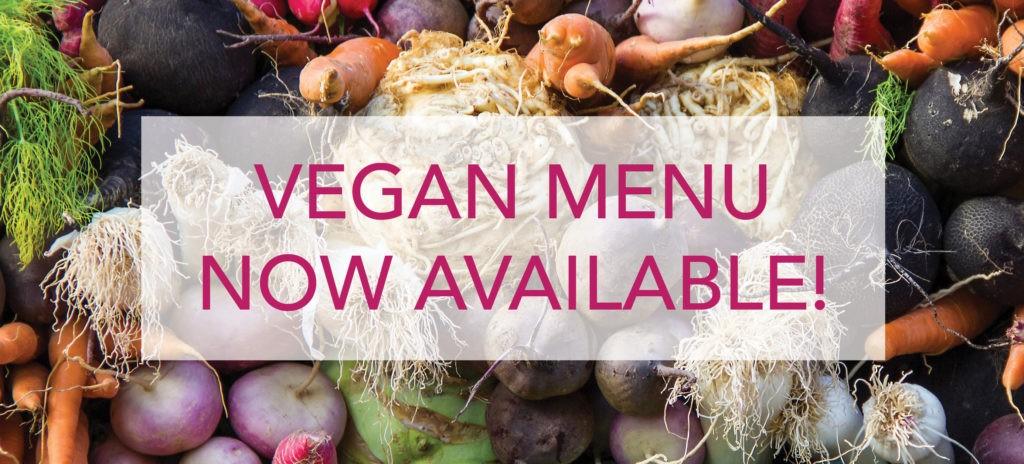 Silvio's Italiano vegan menu