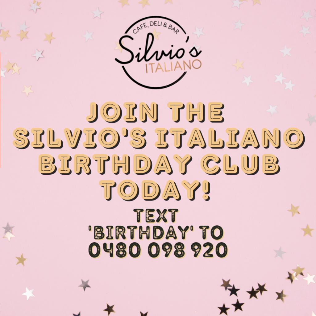 Silvio's Birthday Club